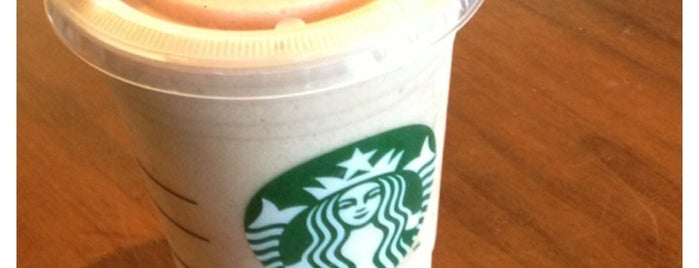 Starbucks is one of Orte, die Luke gefallen.