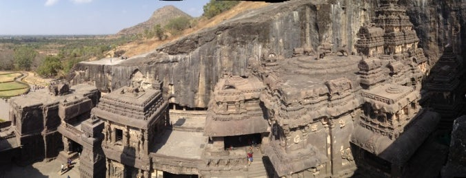 Ellora Caves is one of World Heritage Sites List.