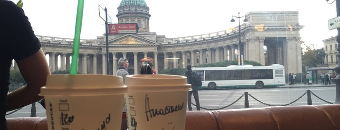 Starbucks is one of СПб. Чай-кофе-десерты.