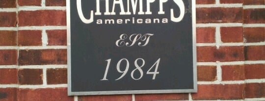Champps is one of HOU Scene.