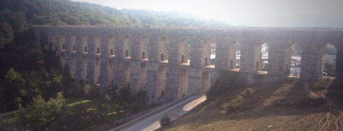 Kemerburgaz Su Kemeri is one of Tarihi Yerler-Müzeler.
