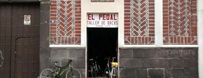 El Pedal is one of Bicis en Puebla.