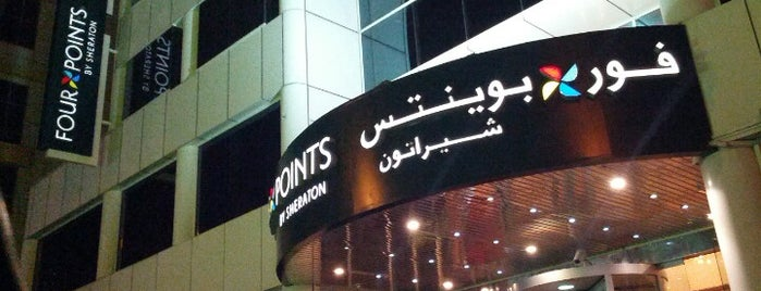 Four Points By Sheraton Bur Dubai is one of Lieux sauvegardés par Murat.