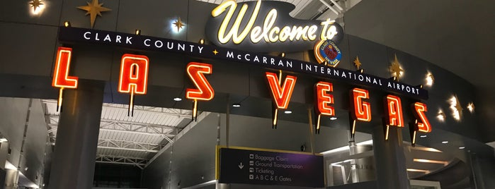 McCarran International Airport (LAS) is one of Orte, die Henry gefallen.