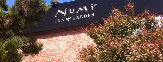 Numi Tea Garden is one of cali.