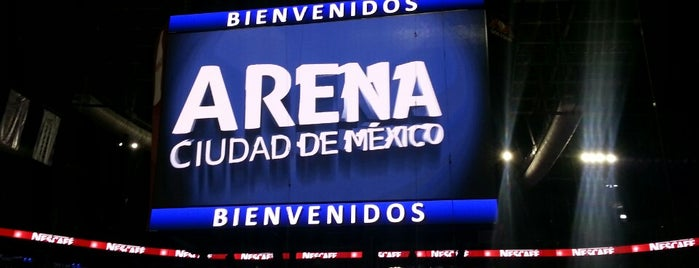 Arena Ciudad de México is one of Lugares favoritos de Angeles.