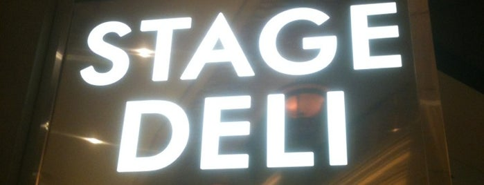 Stage Deli is one of The best places I've found... everywhere..
