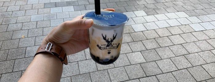 THE ALLEY is one of 大人のたぴおかりすと.