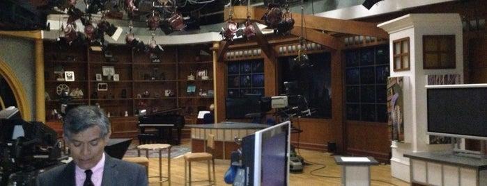 WTTW Studios is one of Chicago-My Hometown.