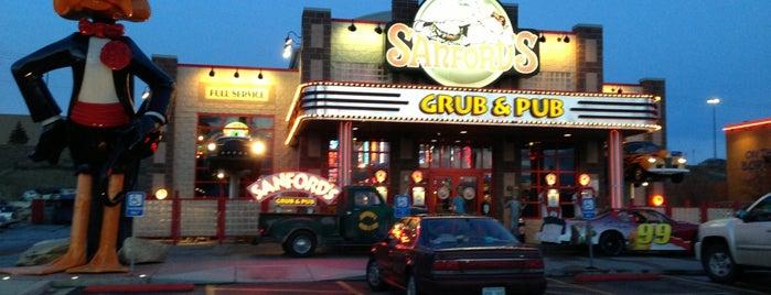 Sanford's Grub & Pub is one of Wyoming Culinary Digs.