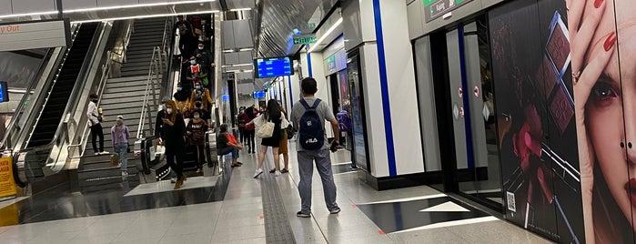 Pasar Seni LRT & MRT Interchange is one of Rahmat : понравившиеся места.