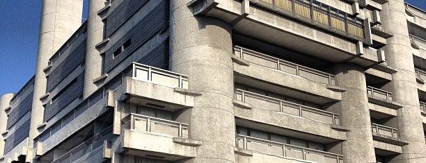 山梨日日新聞社・山梨放送 is one of 丹下健三の建築 / List of Kenzo Tange buildings.