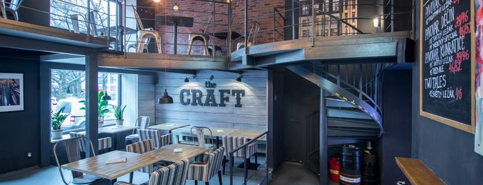 The Craft: Food & Beers is one of Tempat yang Disukai Annie.