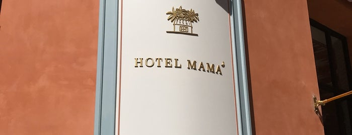Hotel Mamá is one of International: Hotels.