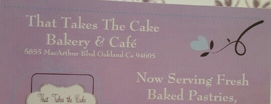 That Takes the Cake is one of SF to-do.