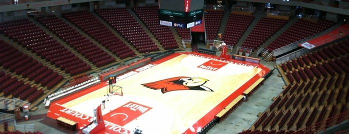 Redbird Arena is one of NCAA Division I Basketball Arenas/Venues.