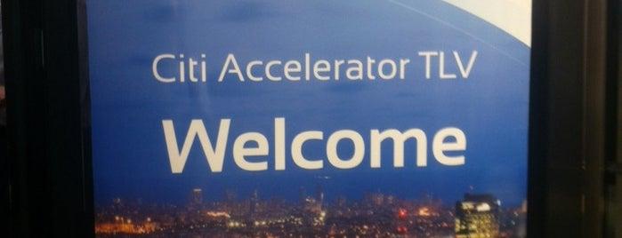 Citi Accelerator TLV is one of Jerusalem.