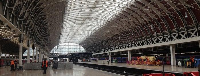 London Paddington Railway Station (PAD) is one of United Kingdom.