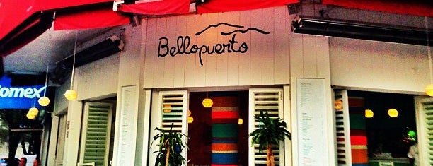 Bellopuerto is one of Barriga llena, Corazon contento. Mexico City.