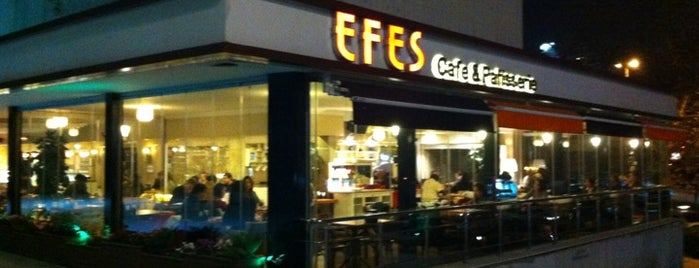 Efes Cafe & Patisserie is one of Lieux qui ont plu à ba$ak.
