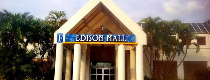 Edison Mall is one of SHOPPING.