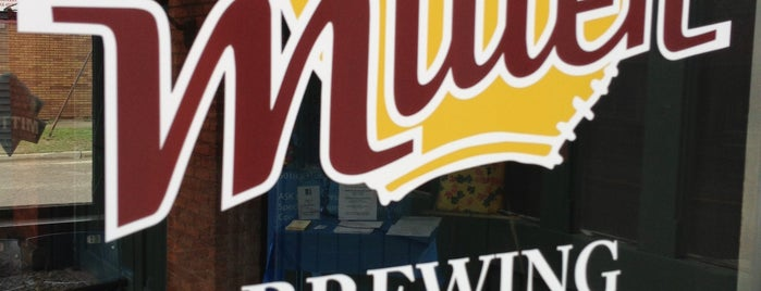 The Mitten Brewing Company is one of Grand Rapids.