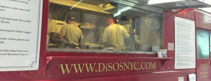 DiSO's Italian Sandwich Society is one of Favorite Spots.