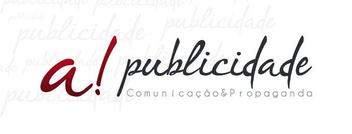 A! Publicidade is one of Locais curtidos por Markus.