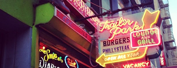 Trailer Park Lounge & Grill is one of NYC places.