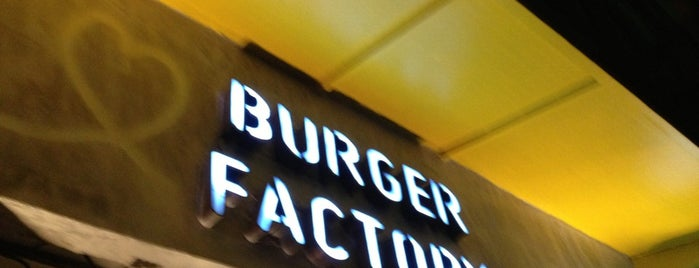 The Burger Factory is one of Egypt..
