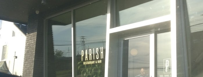Parish Restaurant & Bar is one of Tempat yang Disukai Ben.