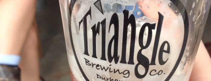 Triangle Brewery is one of Triangle Area Breweries.