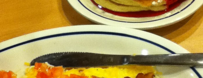 IHOP is one of Been To.