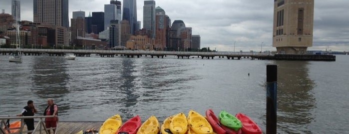 Pier 40 Kayaking is one of New York New York.