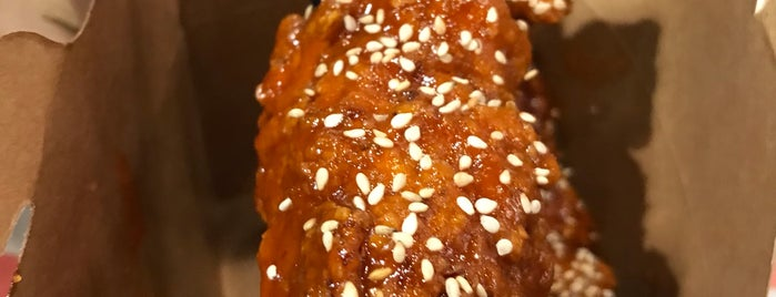 Donkey Mo's Korean Fried Chicken is one of Tempat yang Disukai Josh.