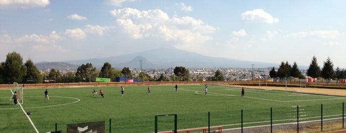 Campo Deportivo Emilio Sanchez Piedras is one of Locais curtidos por andRux.