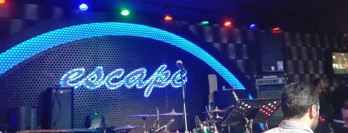 Escape is one of Night Club & Lounge & Pub.