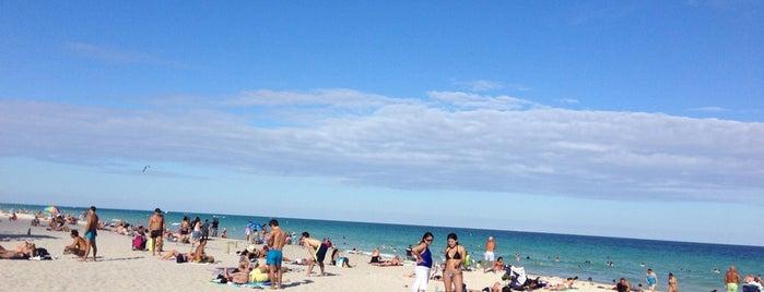 Ritz Carlton Beach is one of Miami.