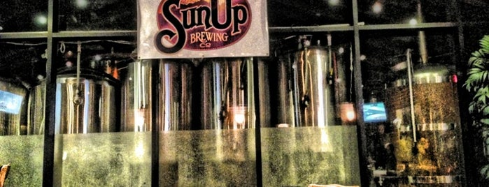 SunUp Brewing Co. is one of Drinks.