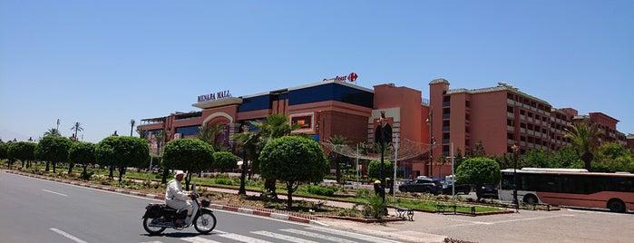 Menara Mall is one of Marrakech.