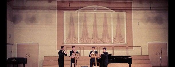 Концертный зал «Гнесинский на Поварской» is one of Мусикиа.