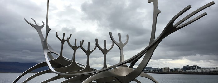 Sólfar / Sun Voyager is one of Iceland Trip.