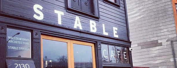 Stable Cafe is one of SF coffee.