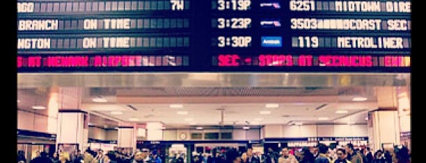 New York Penn Station is one of NYC.