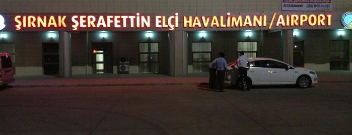 Şırnak Şerafettin Elçi Havalimanı (NKT) is one of Locais curtidos por MEHMET YUSUF.