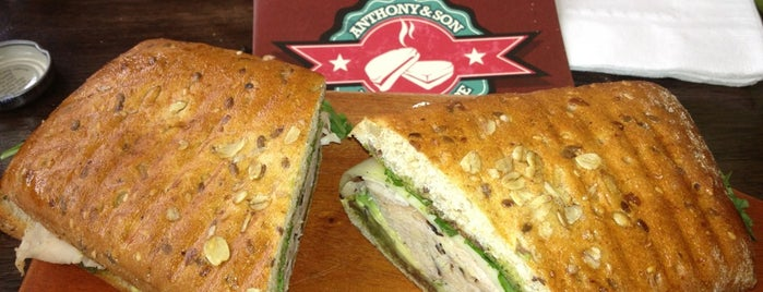 Anthony & Son Panini Shoppe is one of Lugares favoritos de Scott.