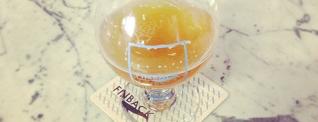 Finback Brewery is one of Allison 님이 저장한 장소.
