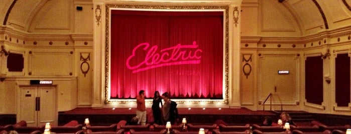 Electric Cinema is one of London To Do.