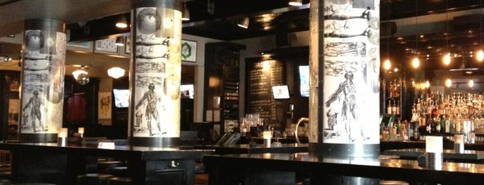 The Academic is one of Bars in Vancouver Worth Checking Out.