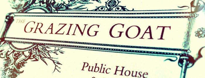 The Grazing Goat is one of London date nights.